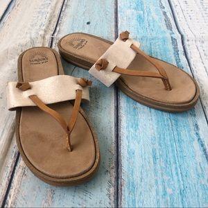 Sunjuns leather sandals